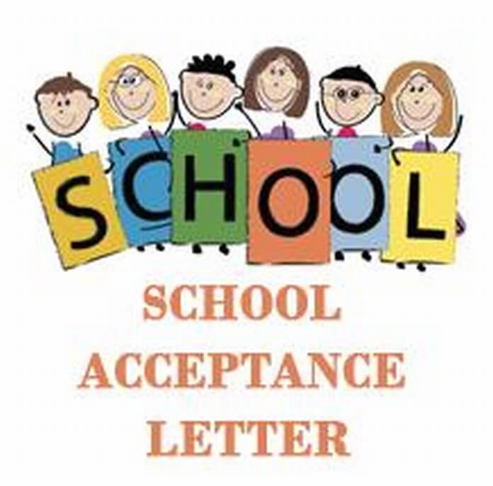 School Acceptance Letter - Free Letters