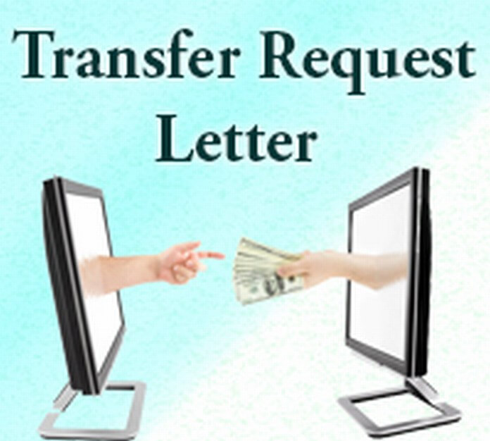 transfer request letter