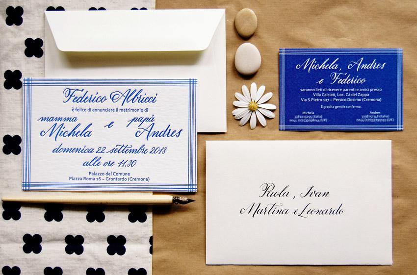 Faire-part de mariage, enveloppes, menus et cadeaux