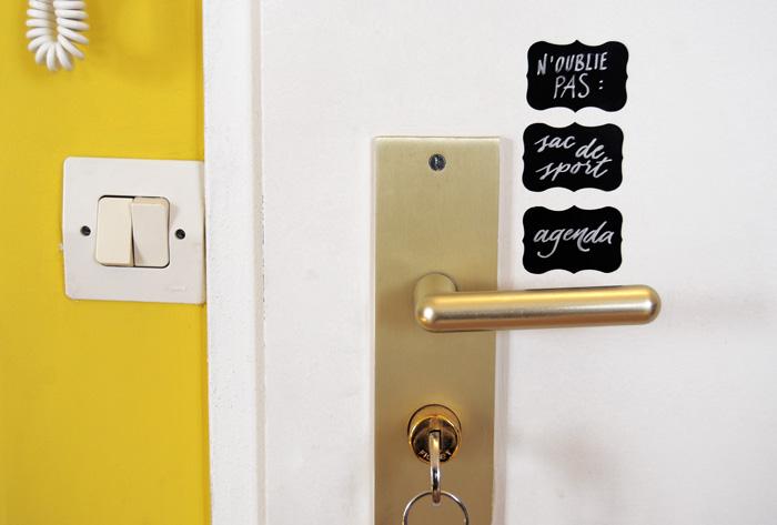 Etiquettes autocollantes : usages créatifs