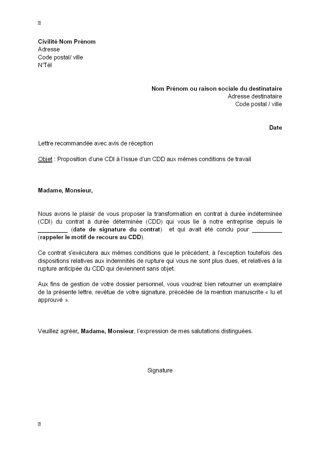 cv medical comment faire