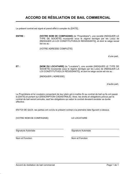 image lettre de renon contrat lettre de presentation