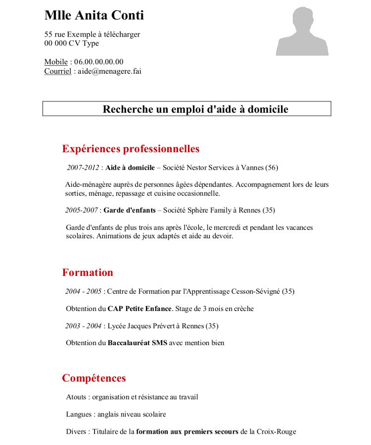faire un cv powerpoint telephone