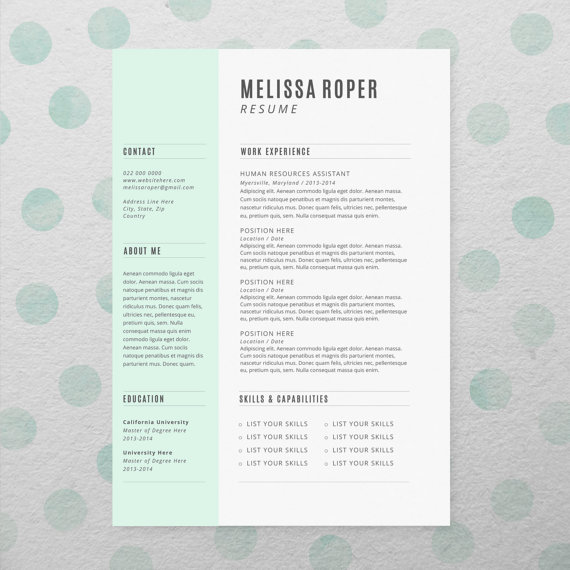 faire son cv avec indesign ou illustrator