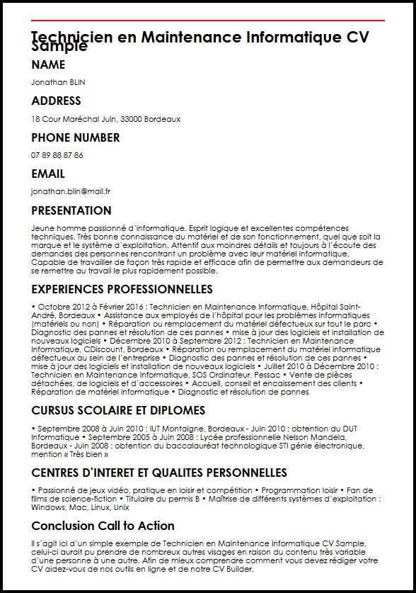 comment faire un cv original sur pages