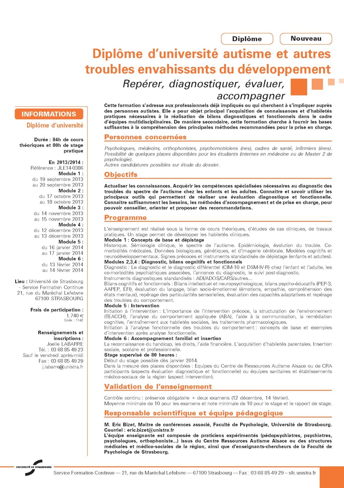 exemple cv psychologue clinicien