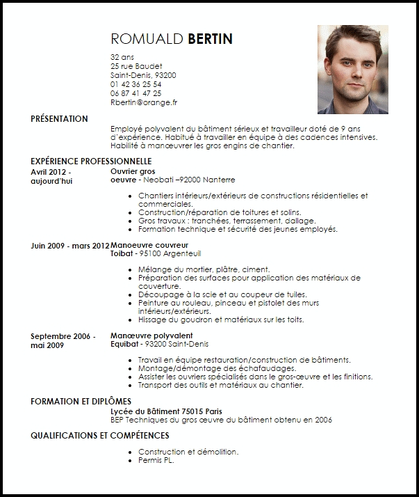deposer cv informatique