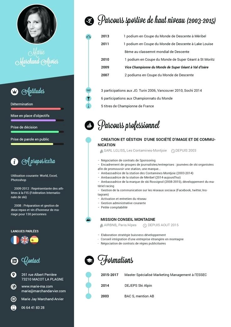 cv original gratuit sans photo a remplir