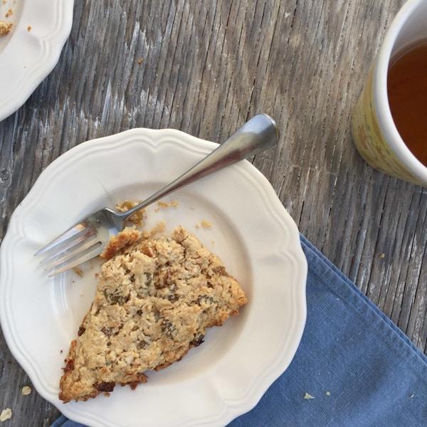 Rosemary Oatmeal Scones - Letty's Kitchen