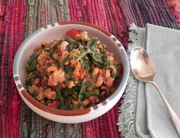Black-eyed Peas and Collards–A Happy New Year