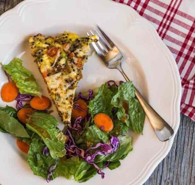 Rainbow Quinoa Egg Bake|Letty's Kitchen