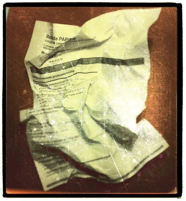 recherche emploi envoi cv papier