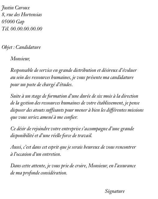 cv scientifique france modele