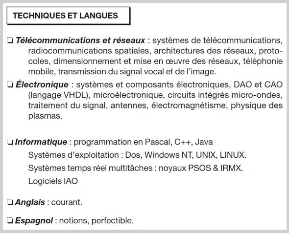 comment presenter les langues dans un cv