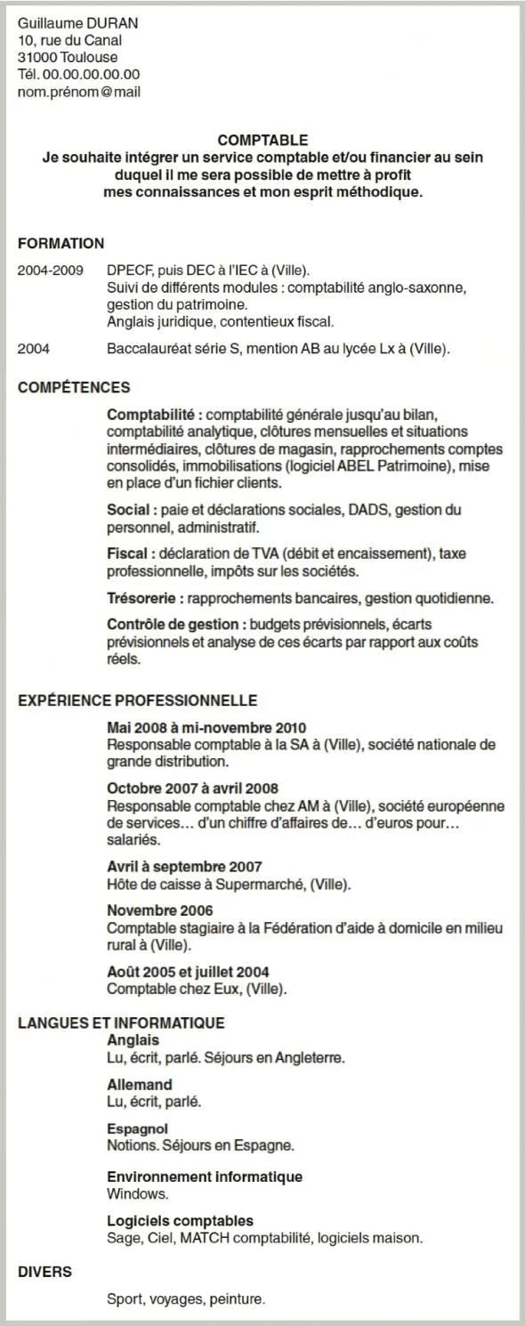 exemple cv supermarche qualite