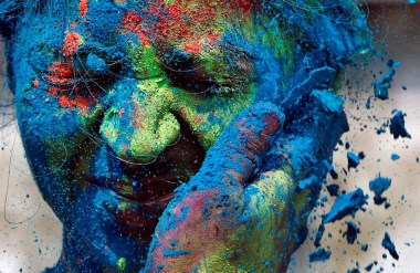 Colorful Holi Photography
