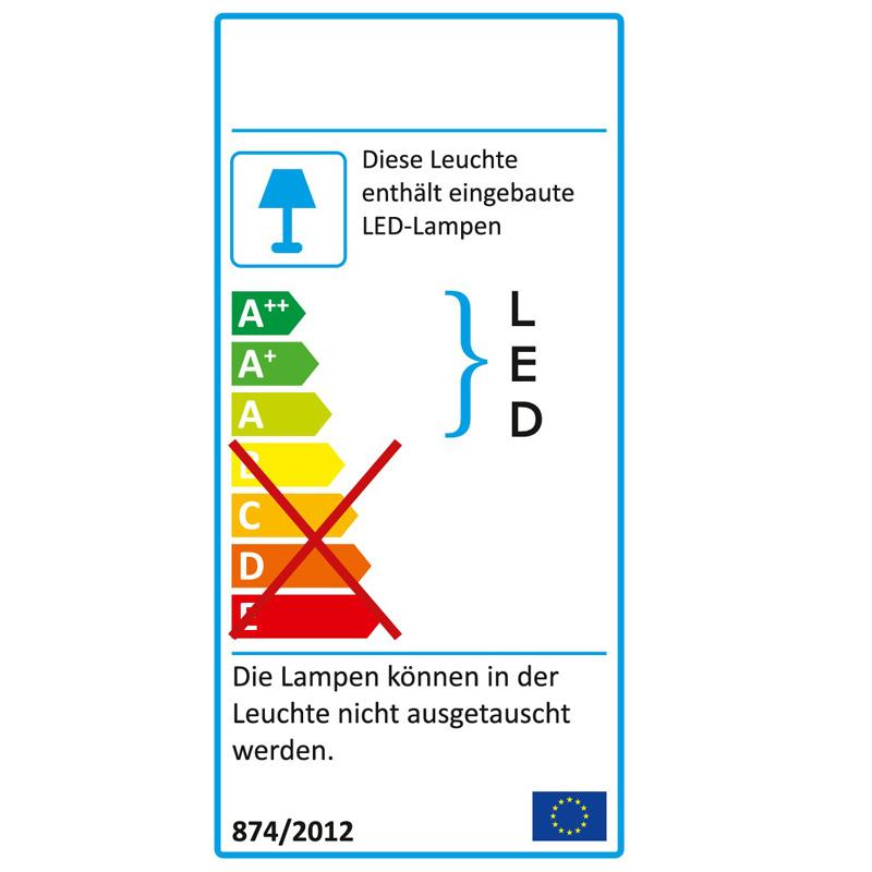 LED Wandleuchte Badleuchte IP44 52756220 Briloner Splash Zugschalter - lampen ausen led 2