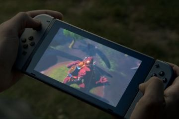 Nintendo Switch'te ekran bilmecesi…