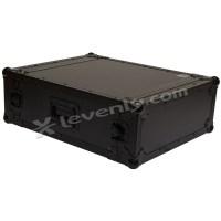 Black case RACK-PRO-4U : rack betonex 4 units