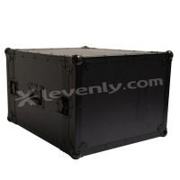 Black case RACK-PRO-8U : rack betonex 8 units