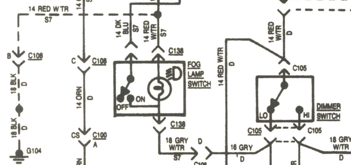 standard home light switch wiring