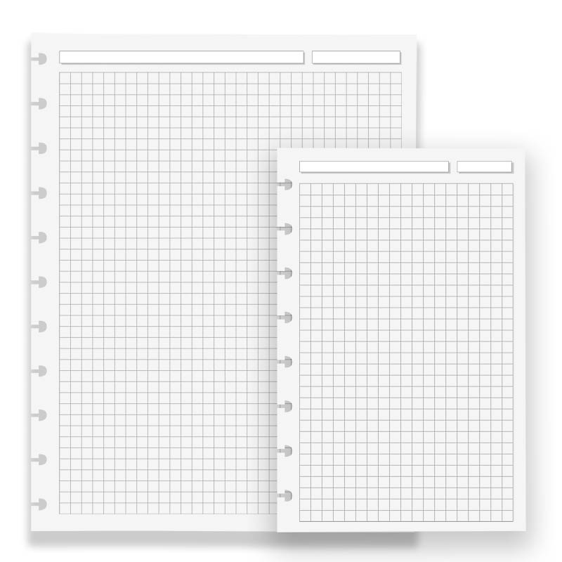 Special Request™ Circa® Full-Page Grid Refills (100 sheets) SPR1070 - full page grid paper