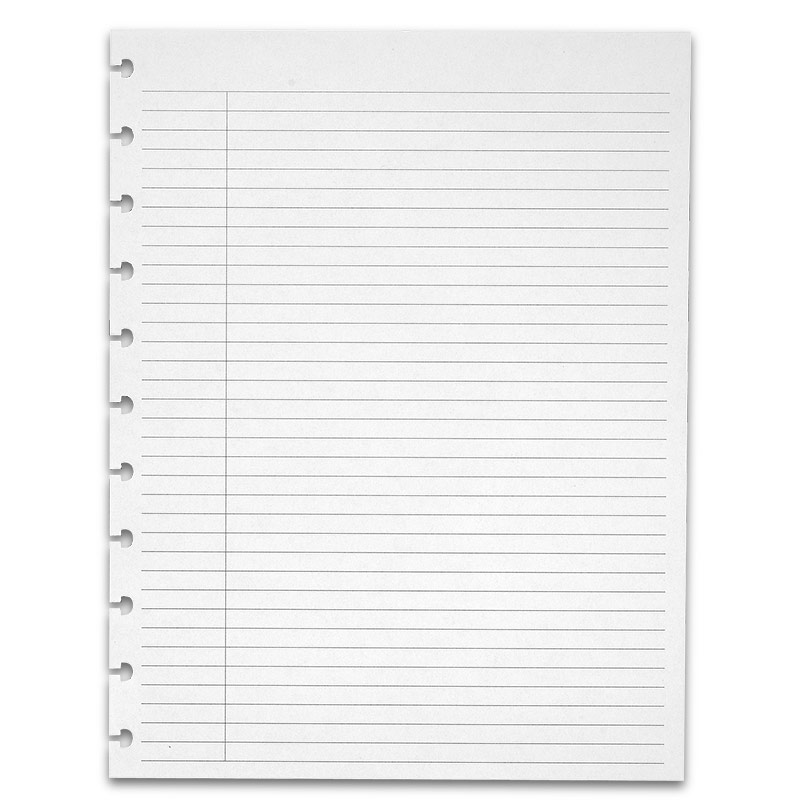 Special Request™ College Ruled, Circa® Letter, Without Title Boxes - college ruled paper template
