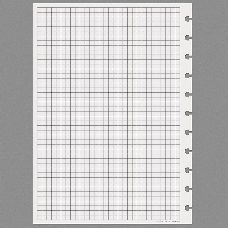 Special Request™ Full-Page Grid (100 sheets), Circa® A4 - Levenger