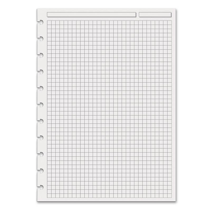 Special Request™ Full-Page Grid (100 sheets), Circa® A4 - Levenger - full page grid paper