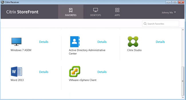 Hide Desktops to Create an Application-Only Store in Citrix StoreFront