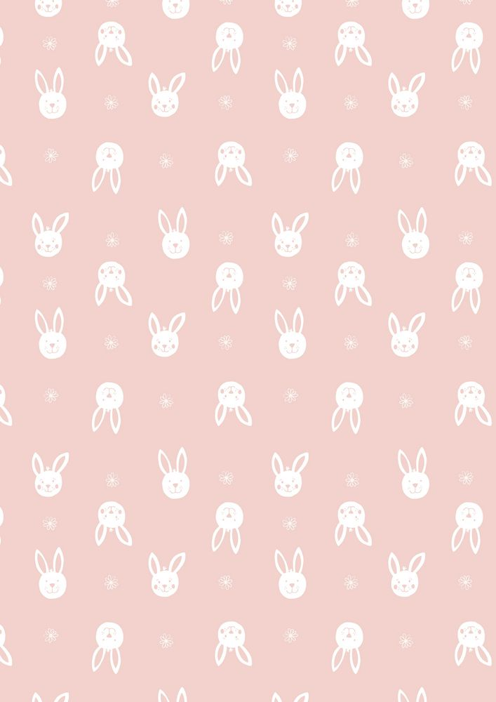 A150.2 - Leo bunny on pink