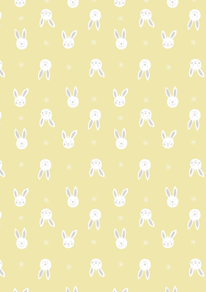 A150.3 - Leo bunny on yellow