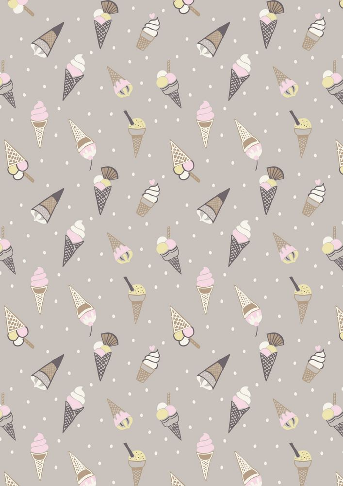 A154.3 - Ice cream cones on grey