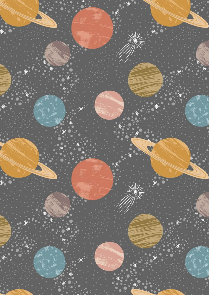 A160.2 - Planets on dark grey