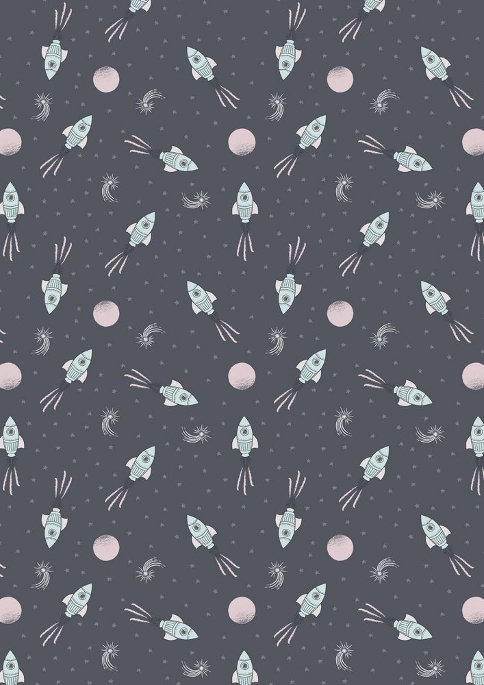 A163.3 - Rockets on dark grey