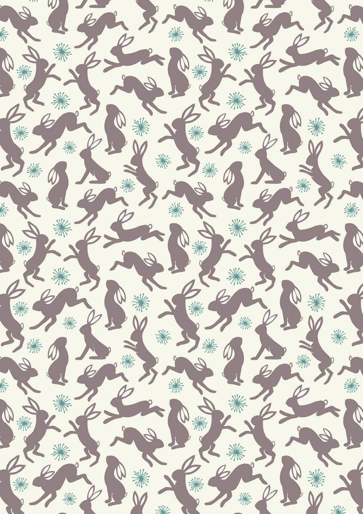 A62.1 - Dancing hares on cream