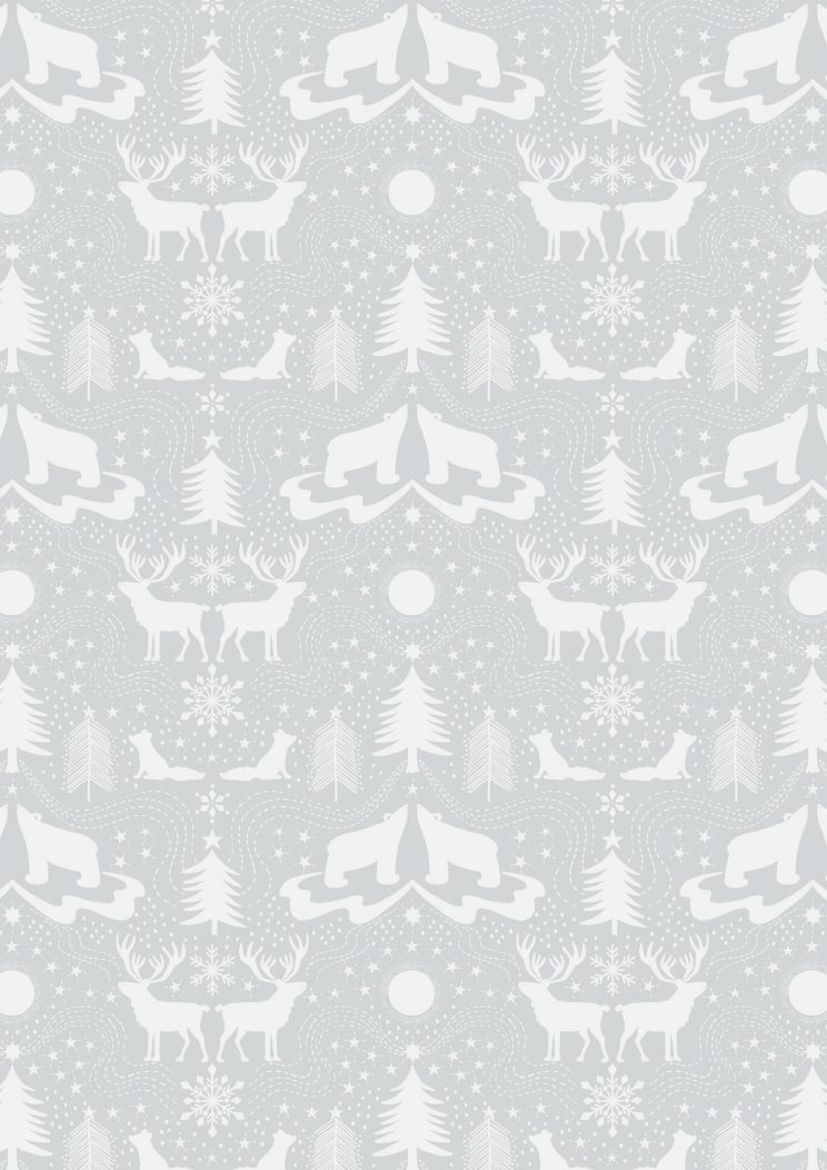 C5.2 - Arctic animals on silver