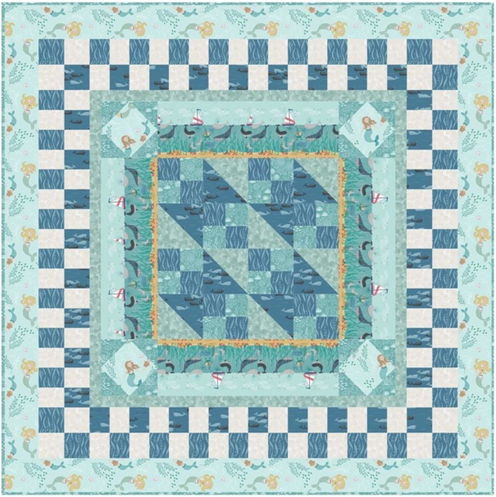 Tales of the sea quilt design 2
