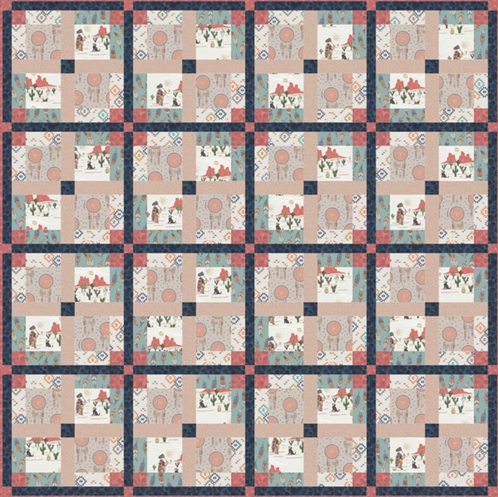 To catch a dream quilt design 1
