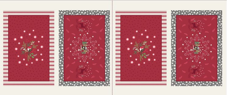 C25.2 - Red Countryside Placemats