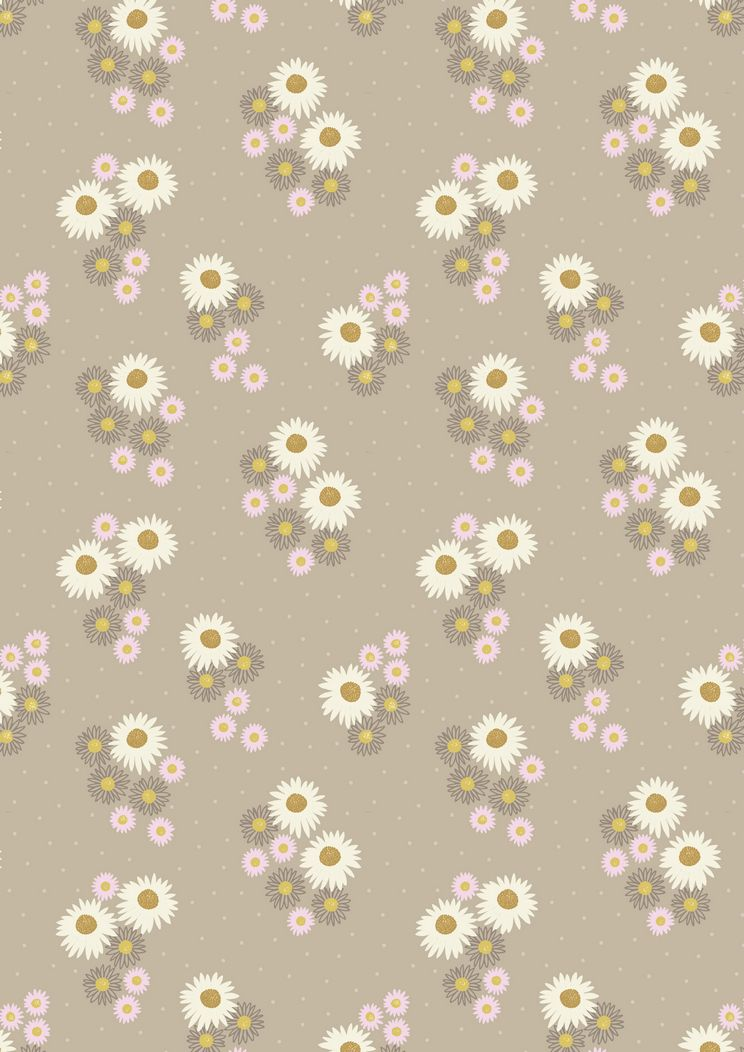 FLO12.1 - Daisies on latte