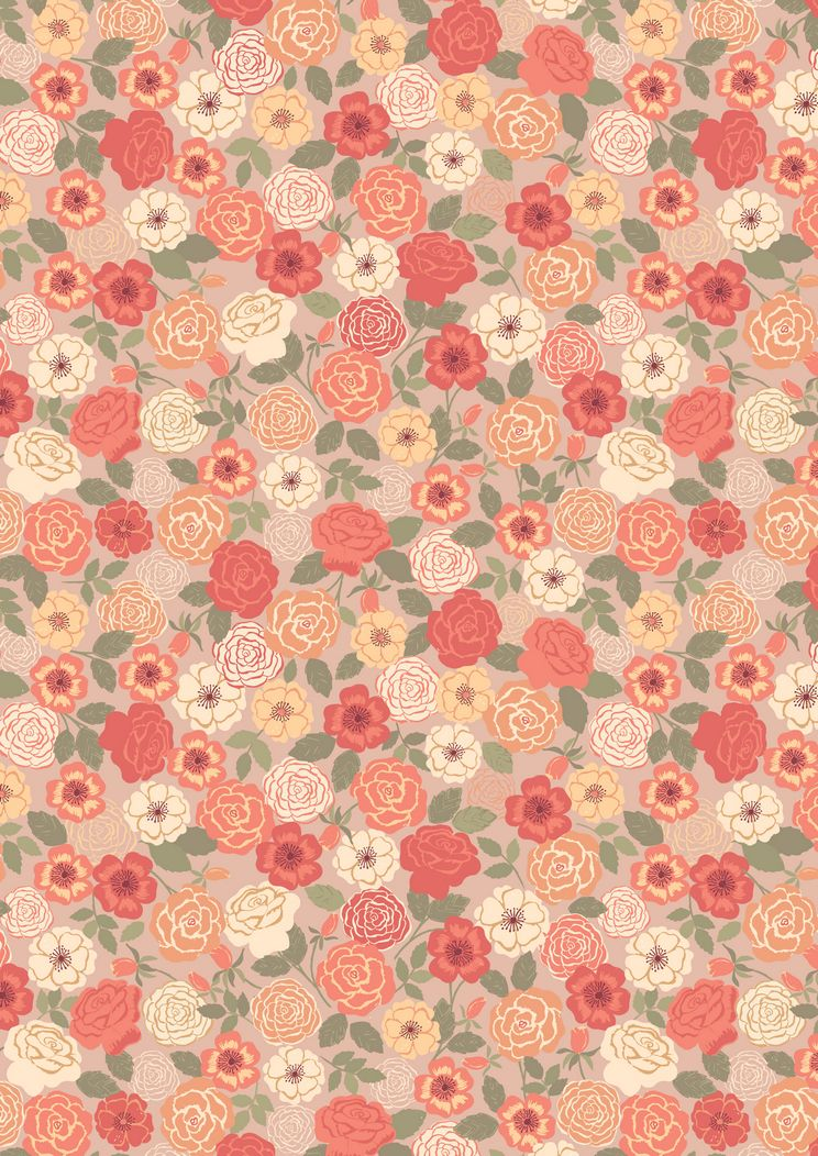 FLO9.3 - Peach Wild Rose