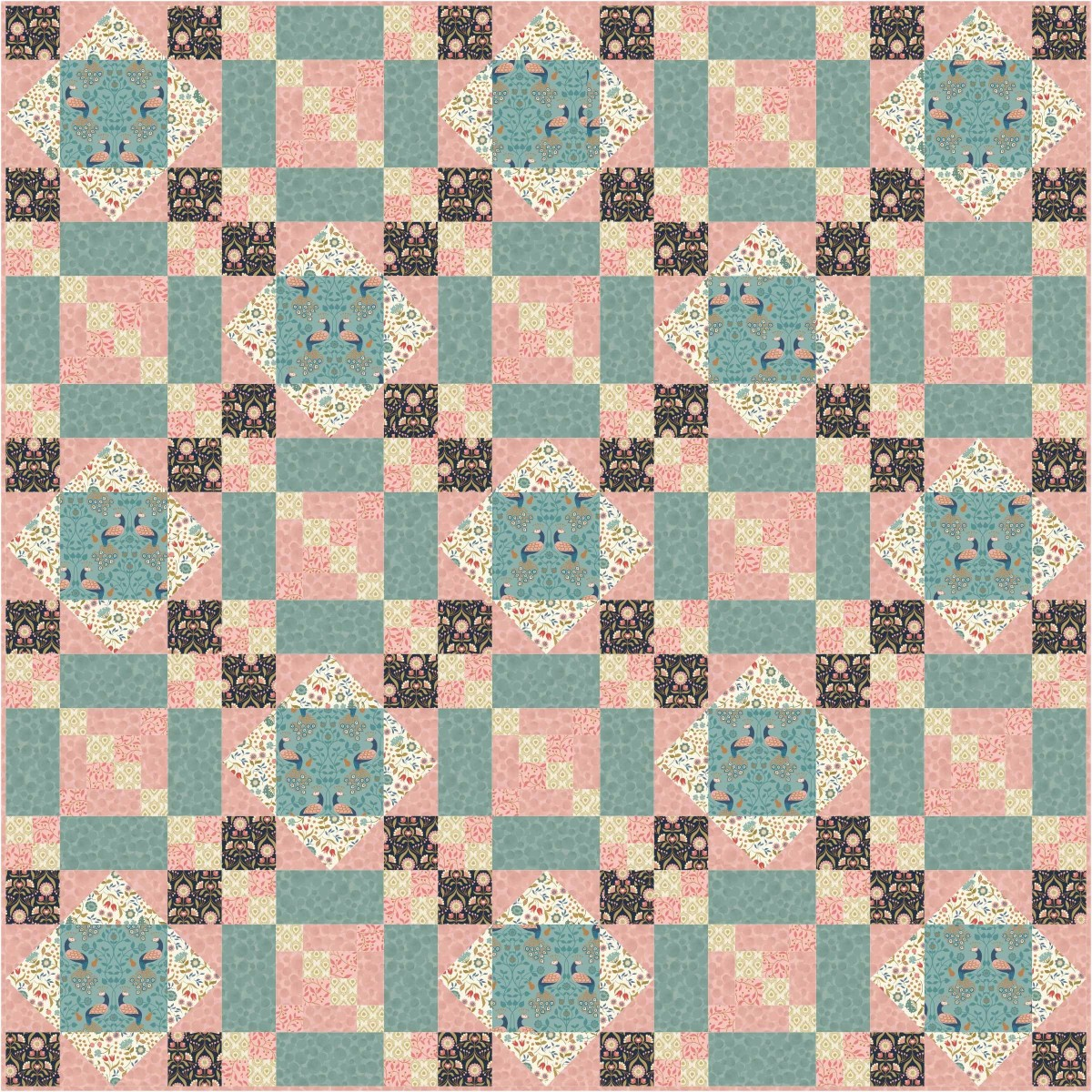 Chieveley Quilt Design 3