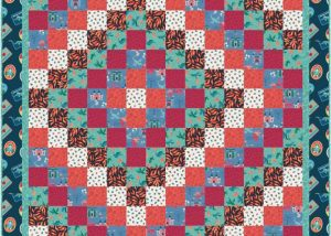 Dragons Quilt Design 1