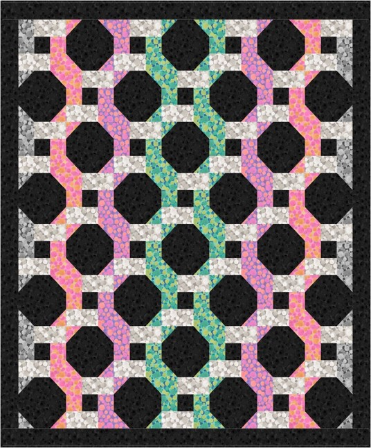 Bumbleberries SS18 Quilt Design 1