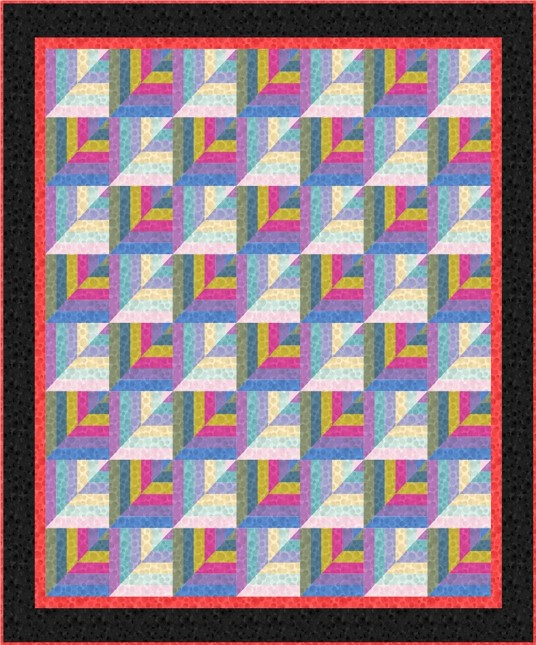 Bumbleberries SS18 Quilt Design 3