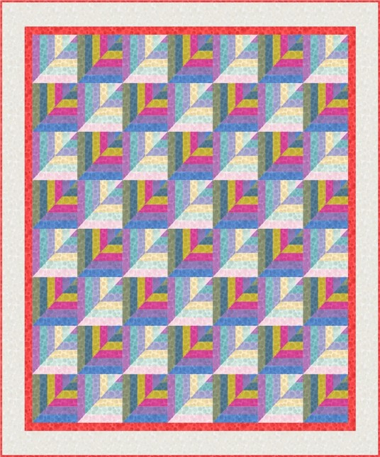 Bumbleberries SS18 Quilt Design 4
