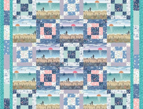 From Old Harry Rocks Quilt