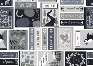 A548.1 Book covers grey & black