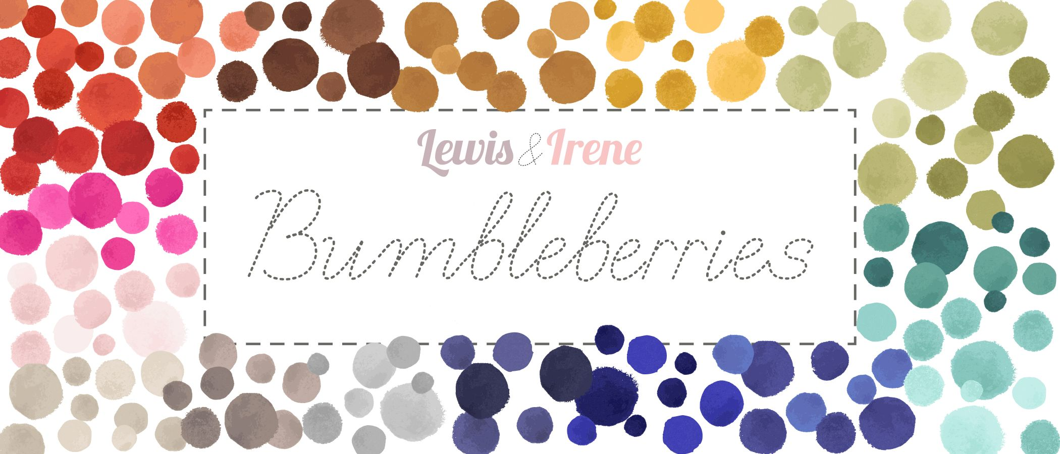 AW21 Bumbleberries Graphic title